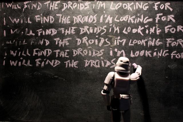 Stormtrooper Chalkboard