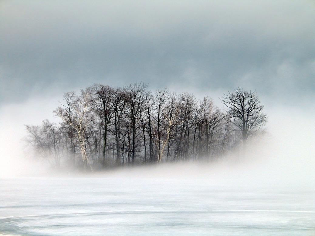 Island in Winter