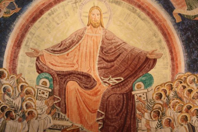 Jesus Judge on Throne