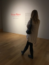 Taylor at Vivian Maier Exhibit