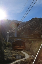 Palm Springs Tram... taking us to a mountain top experience.