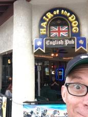 A British pub is always a good idea.