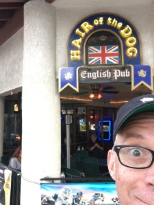 A British pub is always a good idea.