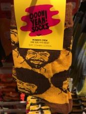Bob Ross socks. Awesome.
