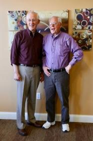Brothers Dean and Bud (Herman) Vander Well