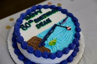 Birthday cake from Jaarsma Bakery in Pella!