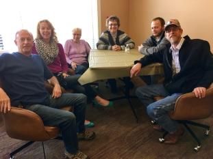 Bud's Crew (L-R: Donald, Vicki, Jane, Donna, Jeremy, Dan)