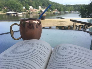 Cubs on the radio. Moscow Mule. Good book. Hello, Summer!