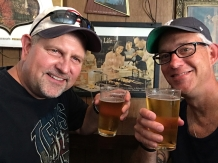 I talked Kevin into drinking a Miller High Life, and he lived to tell the tale.