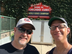 Great pic to take right after the Cubs beat the Cards.