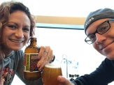 A pre-trip bevy at the Des Moines Airport prior to take-off.