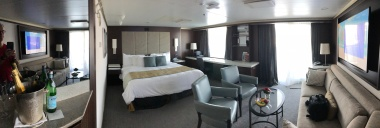 Our suite was very enjoyable. Lots of room, plenty of storage, and extremely comfortable.