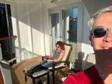 Our verandah.