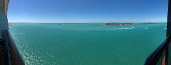 View from our verandah in Key West