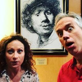 Even Rembrandt loved selfies.