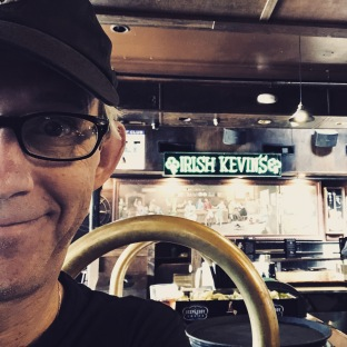 "Had to stop at ""Irish Kevin's"" in Key West for our friend Kevin McQuade."
