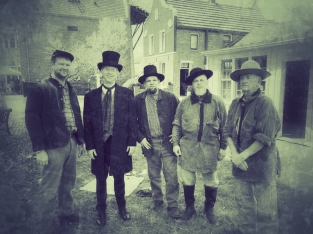 Dominie Scholte was a big supporter of Civil War vets. I took this shot with some guys portraying Civil War soldiers at the festival.