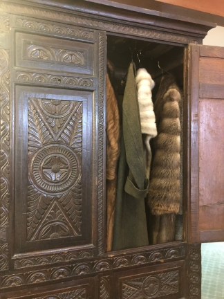 C.S. Lewis' childhood wardrobe. It didn't lead to Narnia (this time).