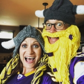You know what fall means? Vikings football!! SKOL!