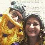 Tom & Wendy at Vikings game.