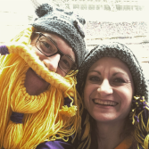 Tom & Wendy at Vikings game.