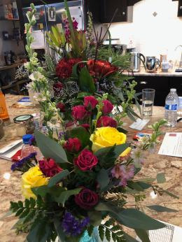 2018 12 21 Wendys Birthday Flowers - 1