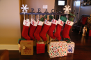 """""""The stockings were hung by the stairway with care..."""""""