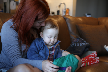 Aunt Maddy and Milo.