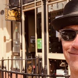 Hat shop. Duh.