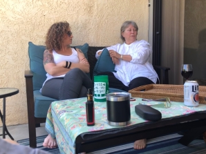 Our friend, Ann, drove from Yuma to spend some time with us.