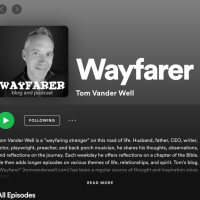 Wayfarer Podcast Now on Spotify!